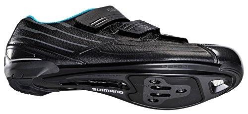 Shimano SH-RP2 Damen Touring Road Radfahren Kunstleder Schuhe Schwarz Blau