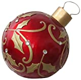 "RESON ENTERPRISES 16069 24"" Red Led Ornament"