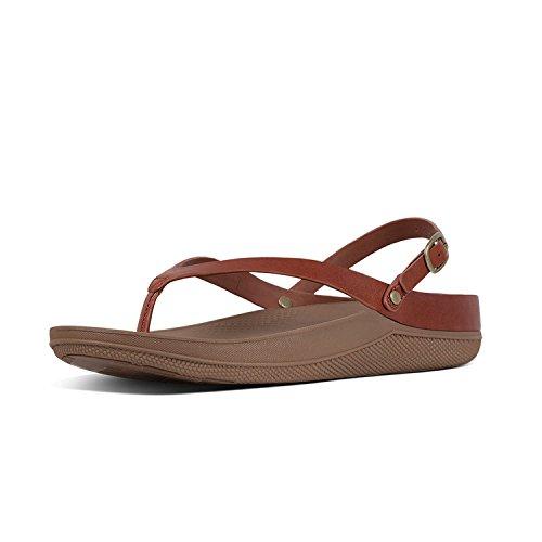Leather Back Strap Sandal - 6