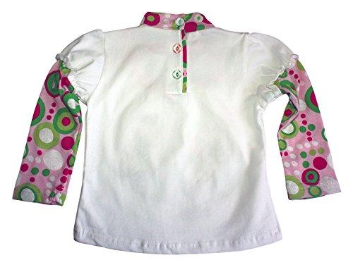 larga as para camiseta de blanca Ajiduo manga ni B6IyO88c
