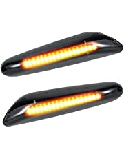 Dynamic Side Marker for BMW Side Indicator LED Dynamic Side Marker Waterproof Turn Signal Light Sequential Blinker Light Direct Replacement