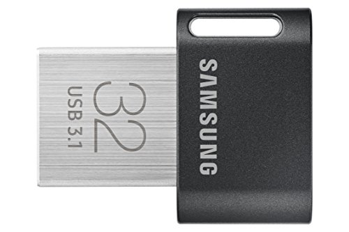 - Samsung MUF-32AB/AM FIT Plus 32GB - 200MB/s USB 3.1 Flash Drive