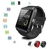 FAIYIWO 3Colors U8 Bluetooth Smart Wrist Watch Phone Mate for iOS Android iPhone Samsung HTC LG FAIYIWO Black