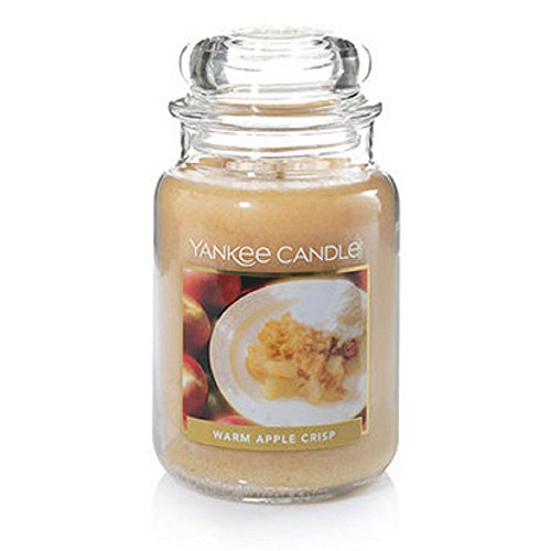 Yankee Candle Warm Apple Crisp Large Jar Candle (Natural Scents Crisp Apple)