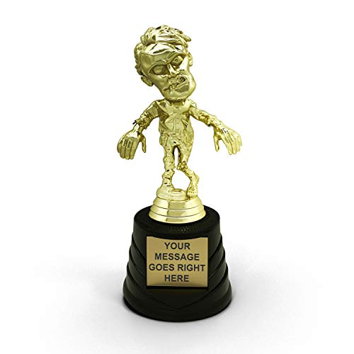 Halloween Party Trophy Zombie - Customize Now