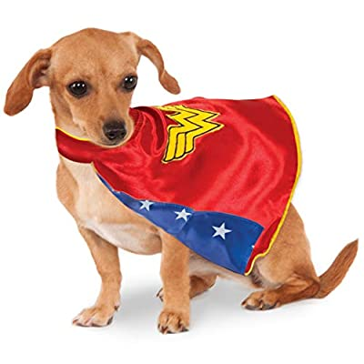 DC Comics Wonder Woman Pet Cape, X-Small: Toys & Games