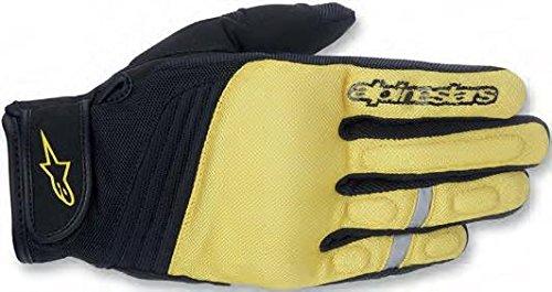 Alpinestars Asama Glove Textile Black Yellow Medium