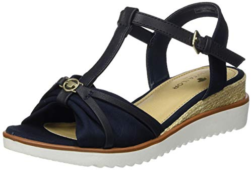 TOM TAILOR Damen 8092904 Riemchensandalen