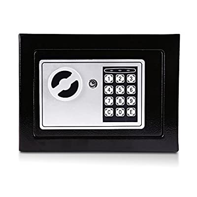 Hoddmimis Digital Electronic Home Office Keypad Sentry Safe Box 17EF