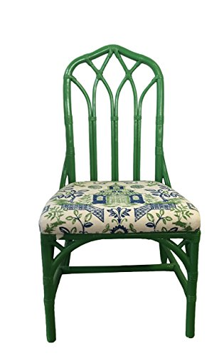 Vintage Henry Link Rattan Side - Chair Lilly