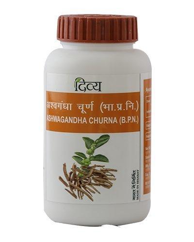 5 Pack Divya Patanjali Ashwagandha Churna 100gms (Total 500 gms)