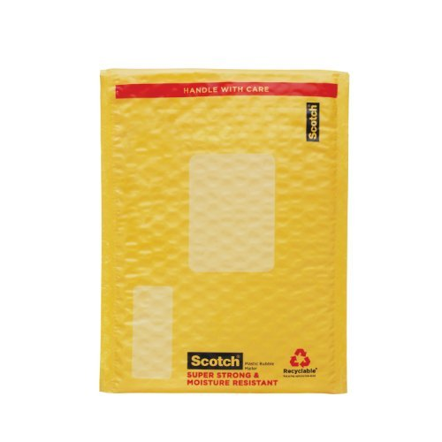 Smart Mailer Scotch 3m - Scotch Smart Mailer, 6 in x 9 in, Size #0, 25-Pack (8913-25)