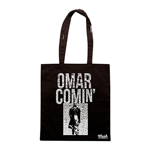 Borsa OMAR COMIN THE WIRE - Nera - FILM by Mush Dress Your Style