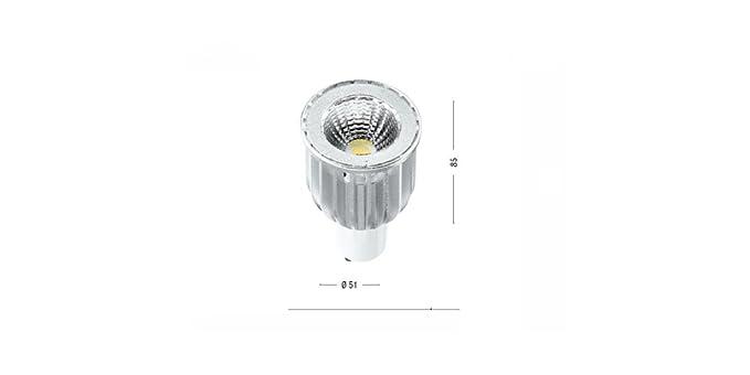 Lampadina a led alluminio gu w k lumen alta luminosita