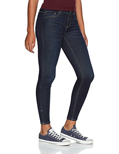 Only Slim Denim Femme Jean Blue Dark Bleu rqpr0w5
