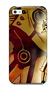 5c Scratch-proof Protection Case Cover For Iphone/ Hot High Resolution Naruto Anime Desktop Phone Case