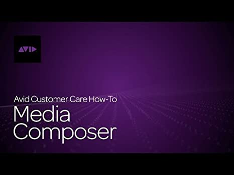 Avid Media Composer 8 Software (No Dongle)