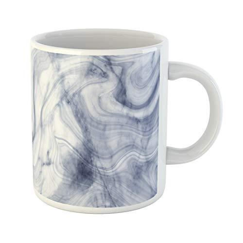 Semtomn Funny Coffee Mug Brown Abstract Grey Marble Floor Stone Interior Gray Bathroom 11 Oz Ceramic Coffee Mugs Tea Cup Best Gift Or Souvenir