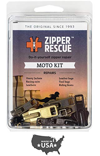 Zipper Rescue Zipper Repair Kits - The Original Zipper Repair Kit, Made in America Since 1993 (Moto)