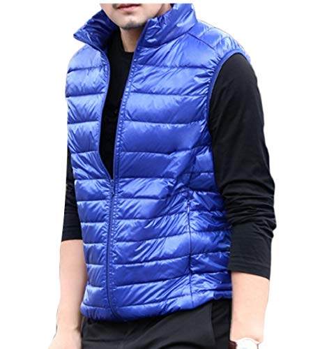 Casual Lightweight Collar Vest Down Men's Jacket Stand Coat Gocgt 1 p5nU1YP61