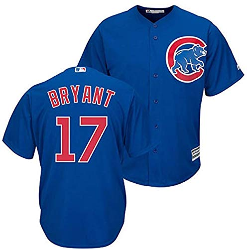 Outerstuff Kris Bryant Chicago Cubs MLB Majestic Youth Blue Alternate Cool Base Replica Jersey (Youth Large 14-16)