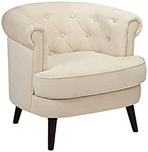 Sauder 418930 Elwood Accent Chair, Beige, Medium