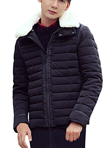 (ネルロッソ) NERLosso ダウンジャケット メンズ ファー 防寒 軽量 ショート丈 アウトドア バイク ゴルフ 登山 ジャンパー ブルゾン 大きいサイズ 正規品 cml24112