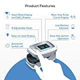 Beurer PO30 Fingertip Pulse Oximeter | Blood Oxygen Saturation & Heart Rate Monitor | Medical Device with 4 Colored Graphic Display Formats | Extra-Small & Light | Strap & Batteries Included