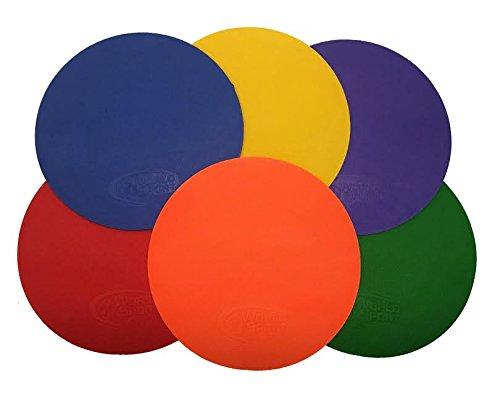 World Sport Agility Dot Set - Set of Six Dots with Carry Bag