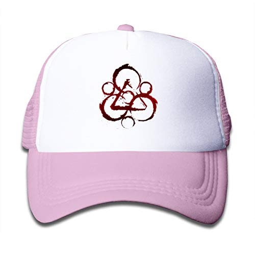Wufive Coheed and Cambria Cute Unisex Children's Trucker Hats One Size Pink ()