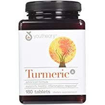 Youtheory Turmeric Advanced Formula Tablets - 180 ct