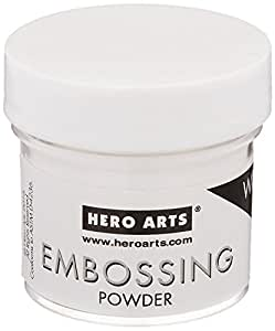 Hero Arts PW110 Embossing Powder, 1-oz. Bottle, White