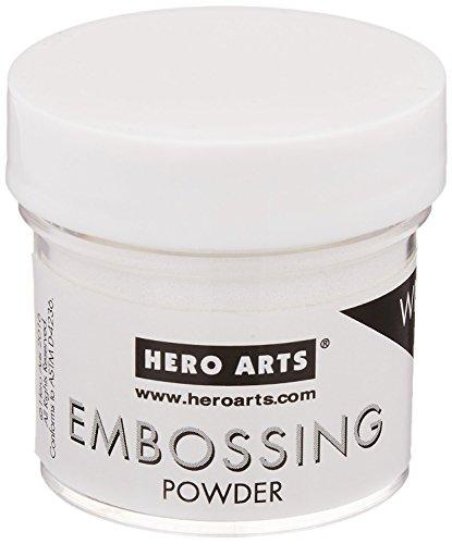 Hero Arts PW110 Embossing Powder, 1-oz. Bottle, White