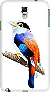 DailyObjects Silver Breasted Broadbill Case For Samsung Galaxy Note 3 Neo