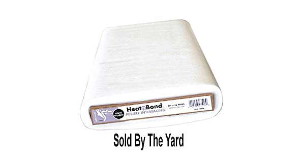 Thermoweb Heat N Bond Lite Fusible Interfacing 20 inches Wide by The Yard