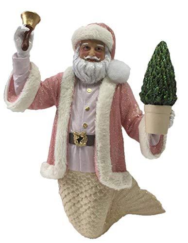 December Diamonds Ornament - Blushing Santa Merman