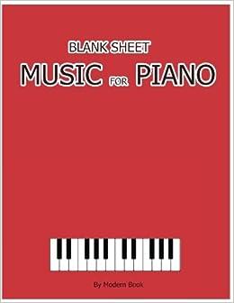 blank staff paper piano