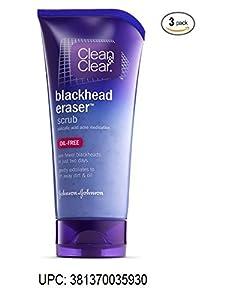 Clean & Clear Scrub Blackhead Eraser 5oz (3 Pack) made by Clean & Clear