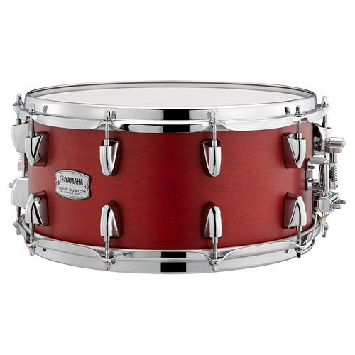 Yamaha Tour Custom Maple 14'' x 6.5'' Snare Drum, Candy Apple Satin