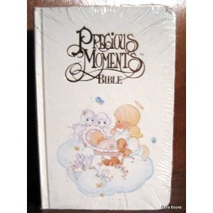 Precious Moments Bible -Baby Edition - New King James Version (NKJV), White 50034, 202PM