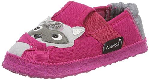 Nanga Mädchen Elli Hausschuhe Pink (Himbeere)