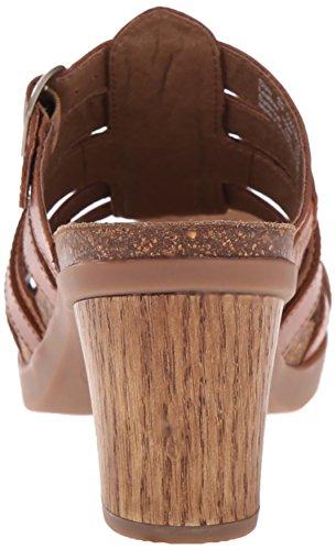 Sandal Dansko Full Women's Camel Dina Slide Grain RxwSrAx