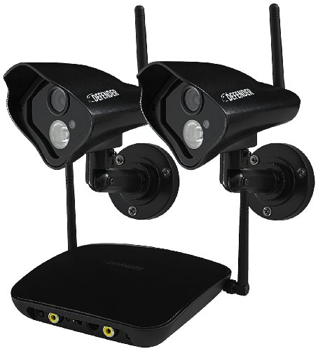 (Defender  Phoenix Pro Wireless Security Cameras with 750ft Range 520TVL Night Vision Camera,22304)
