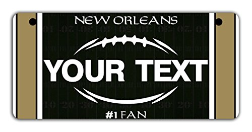 (BRGiftShop Personalize Your Own Football Team New Orleans Bicycle Bike Stroller Children's Toy Car 3