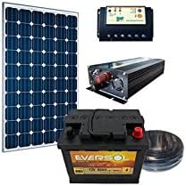Kit Solar para site Pedestal 12 V 50 W 202 wh/día: Amazon.es: Iluminación