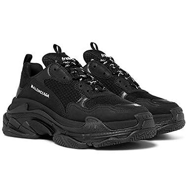 Black Sneakers Running Shoes for Men