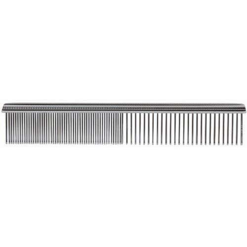 Paw Brothers TM31301 Greyhound Style Fine/Coarse Comb, Chrome