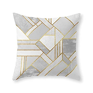 Society6 Gold City Throw Pillow Indoor Cover (16  x 16 )