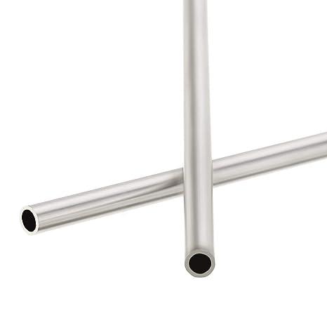 304 Stainless Steel Capillary Tube OD 6mm x 4mm ID Length 250mm Metal TooO/_RU