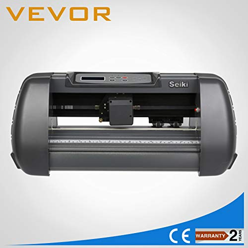 FINCOS US Stock Vinyl Sign Sticker Cutter Plotter Machine 14'' with Contour Cut 3 Blades by FINCOS (Image #3)